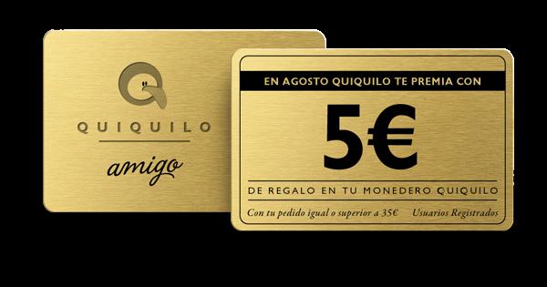 tarjeta 5 euros monedero ok